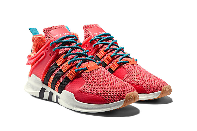 "adidas Originals ATRIC ""Summer Spice"" Collection EQT Support ADV Swift Run NMD_R2 Adilette Sock Sneakers Kicks Trainers Shoes Closer Look Details"