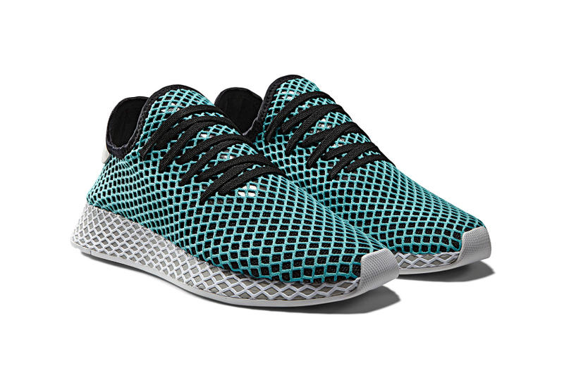 factory authentic 7b523 e2ff0 adidas Originals Deerupt x Parley for the Oceans Collab Collaboration Shoes  Kicks Sneakers Trainers Product Release