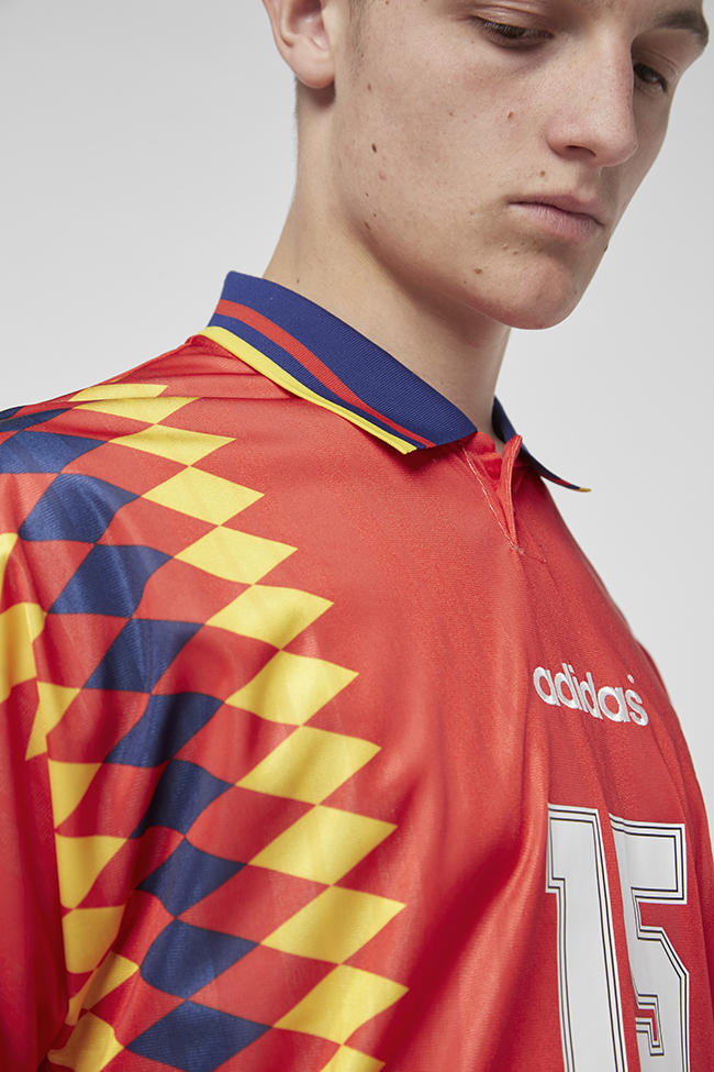 adidas Originals Heritage 2018 World Cup Collection Available Now Size? Official soccer football jersey retro belgium 1984 argentina 1987 germany 1990 russia 1991 spain 1994