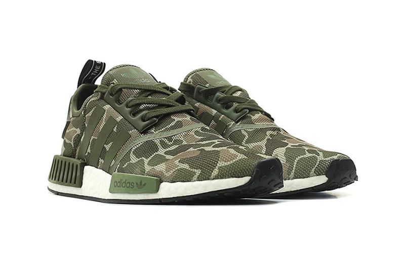 adidas Originals NMD R1 Duck Camo Release Date Trace cargo grey four sneakers purchase price