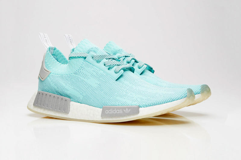adidas Originals NMD R1 Primeknit Summer Colorways Orange Blue Energy Aqua Trace
