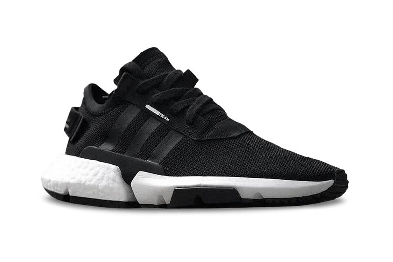 sports shoes c5657 96eb8 adidas Originals P.O.D.-S3.1 Detailed Look Black White