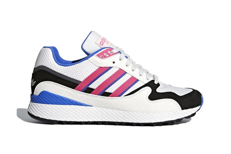 a316ac175 The 1991 original makes a return. adidas Ultra Tech White Black Blue Pink  White Grey Teal Blue 2018 footwear adidas originals