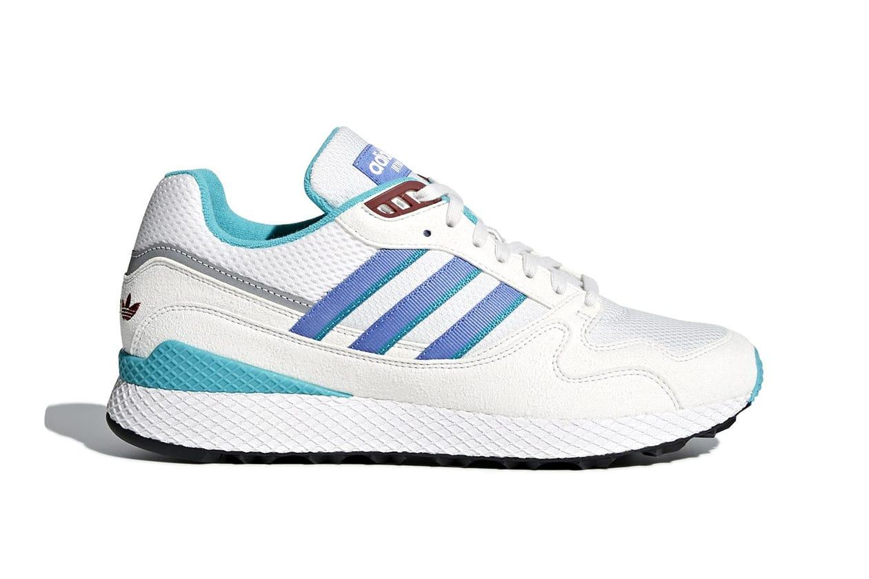 adidas Ultra Tech White Black Blue Pink