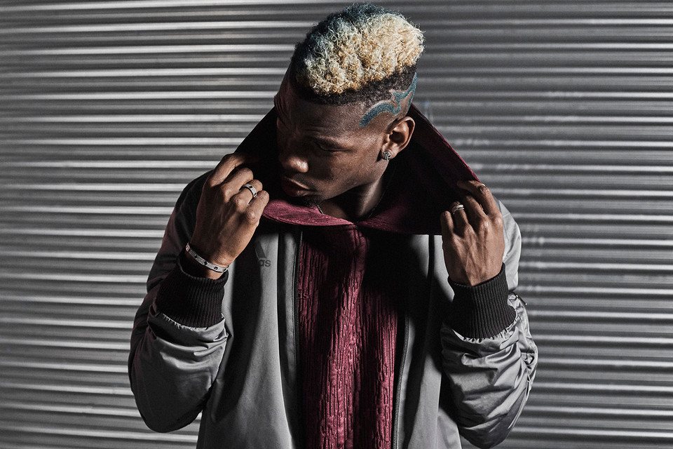 0c1578151 Paul Pogba   adidas Link Up for On   Off-Pitch Capsule
