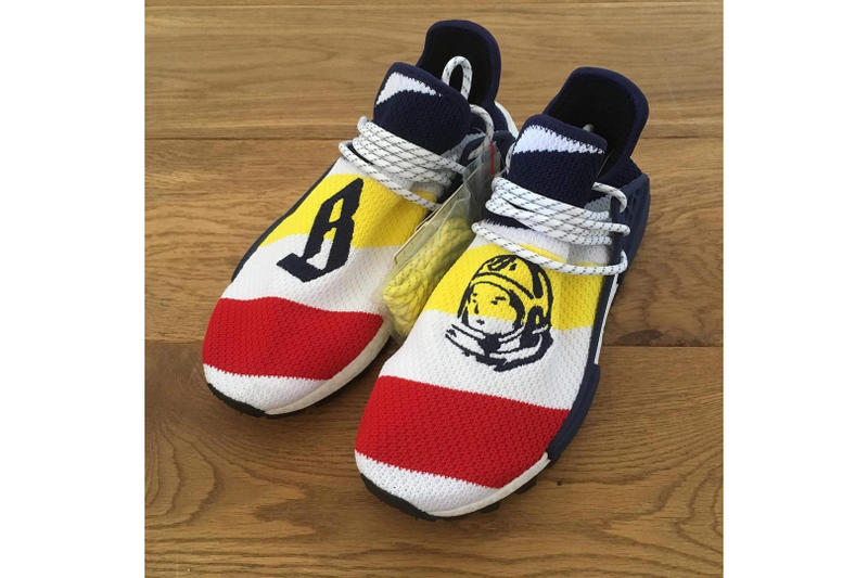 68eac81a62d14 Billionaire Boys Club adidas Originals NMD Hu Pharrell Williams white red  blue three stripes