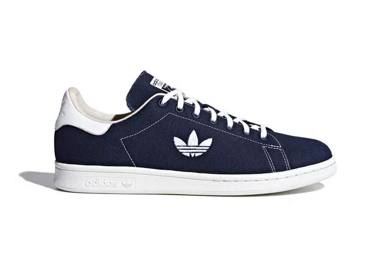f9d1676010d9e adidas Stan Smith Canvas Release Date collegiate navy cloud white clear  brown 2018 june footwear