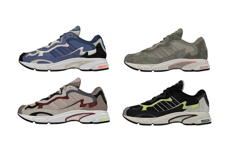 adidas temper run new colorways colors drop release info 140 usd purple black grey beige tan
