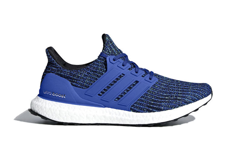 e7ffbabebda9e adidas UltraBOOST 4.0 Hi Res Blue first look sneakers footwear. 1 of 6