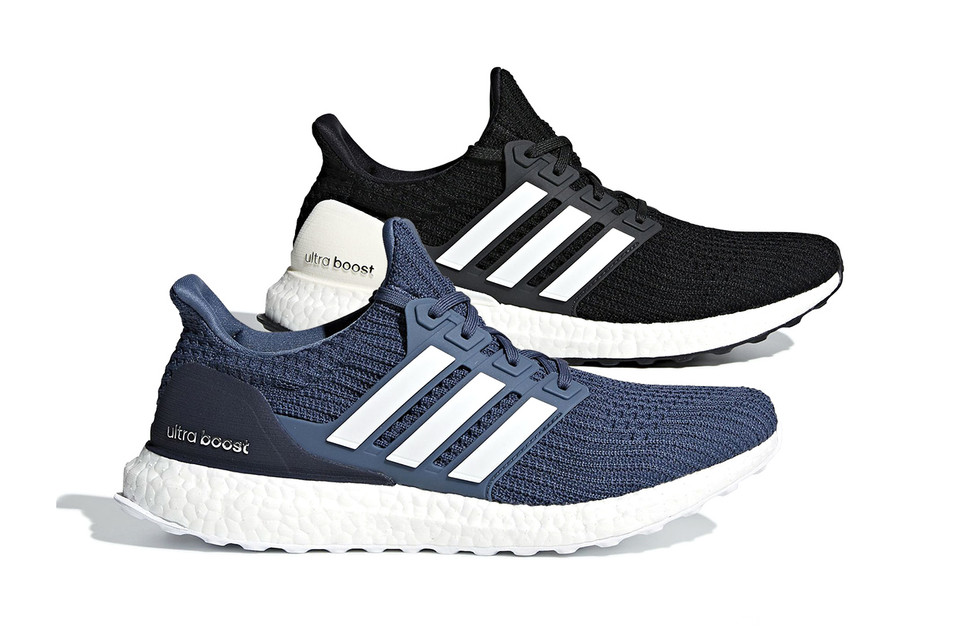 "d81a4dafaa230 Another Look at the adidas UltraBOOST 4.0 ""Show Your Stripes"" In ""Core Black""    ""Tech Ink"""