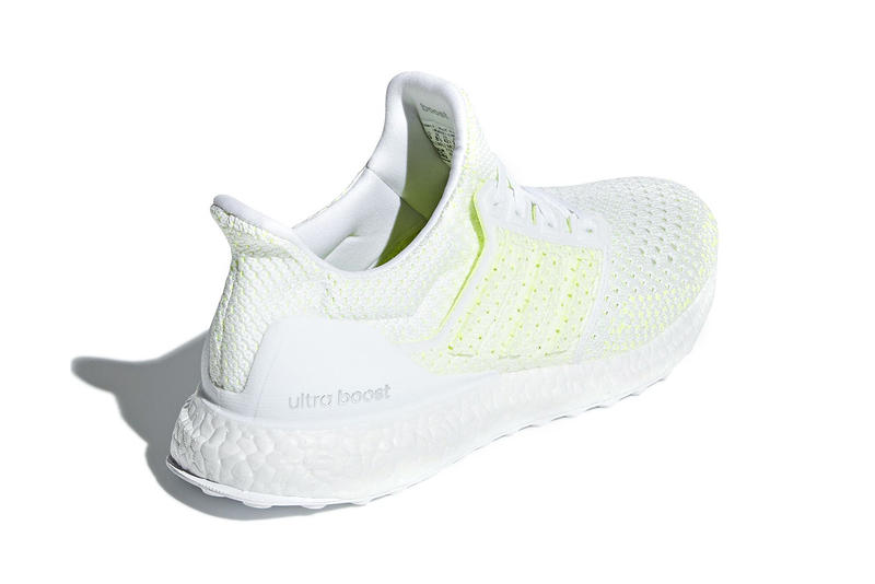adidas UltraBOOST Clima Solar Yellow white release info sneakers footwear running