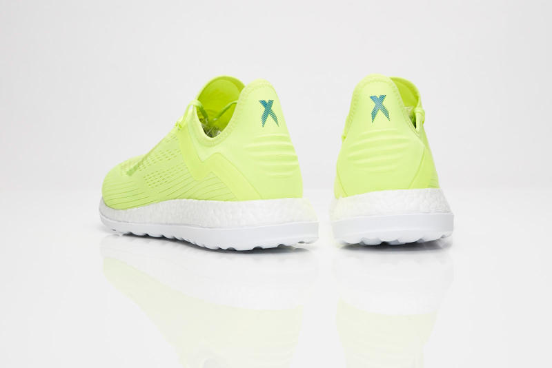 adidas World Cup X 18 TR yellow blue june 7 2018 release date info drop sneakers shoes footwear soccer football boost