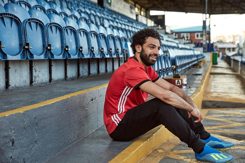 adidas X18 Energy Mode Football Boots World Cup Boot Collection Mo Mohamed Salah Champions League Final Saturday Egypt Liverpool Luis Suarez Heung Min Son Diego Costa Luis Suarez Korea Tottenham Atletico Madrid Spain Barcelona Uruguay Real Madrid