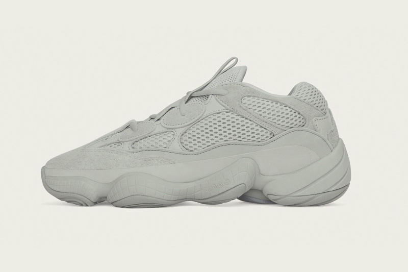 adidas YEEZY 500 Salt Makeover grey 2018 fall october footwear kanye west