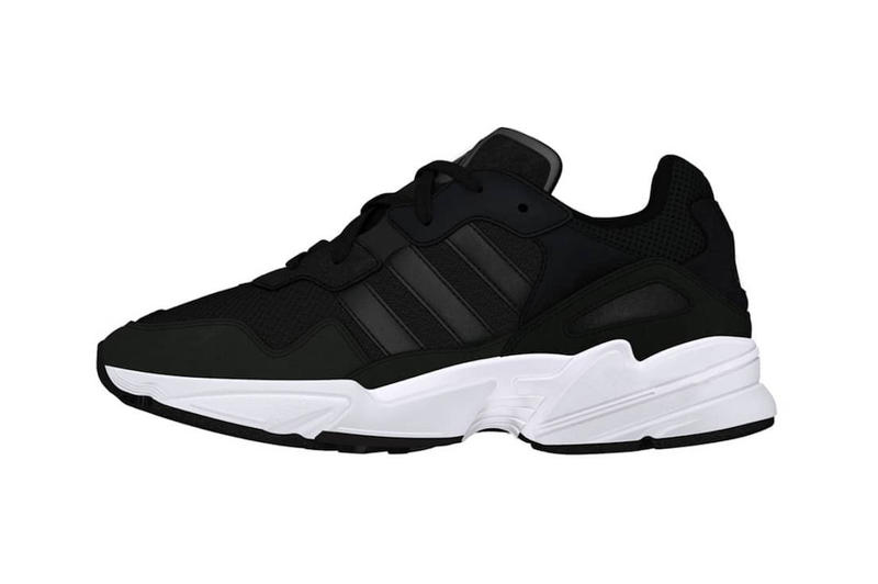 adidas Yung Chasm First Look black white colorway dad shoe chunky sneaker footwear