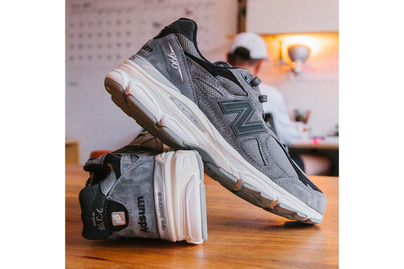 Adsum New Balance 990v3 Friends & Family grey purchase price retail dad shoe sneaker