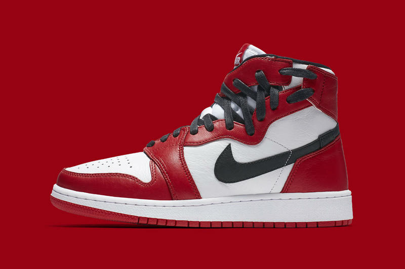 "Nike Air Jordan 1 Rebel ""Chicago"" Release Date Twisted Laces High Top Black Red White"