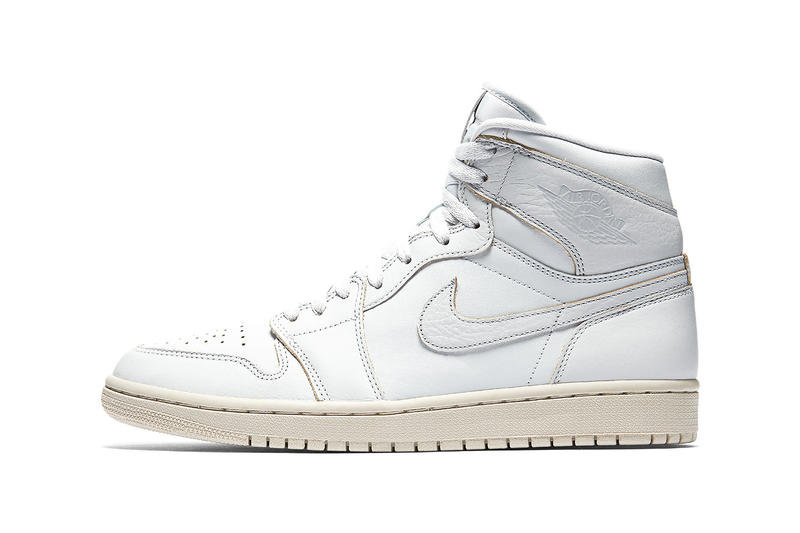 "Air Jordan 1 Retro High ""Desert Sand"" colorway release date drop info sneakers footwear black platinum white green mica"