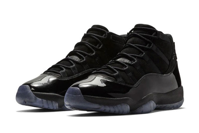 reputable site a2722 d6a58 Air Jordan 11 Cap and Gown Early Access High School Graduates prom night  black