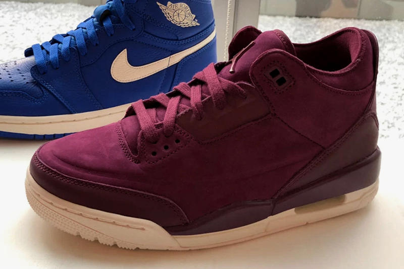 """Air Jordan 3 """"Burgundy"""" Details Release info drop date purchase price fall 2018 womens Availability For Sale"""