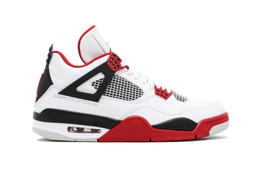 Air Jordan 4 Fire Red Release Date 2019 footwear jordan brand michael jordan