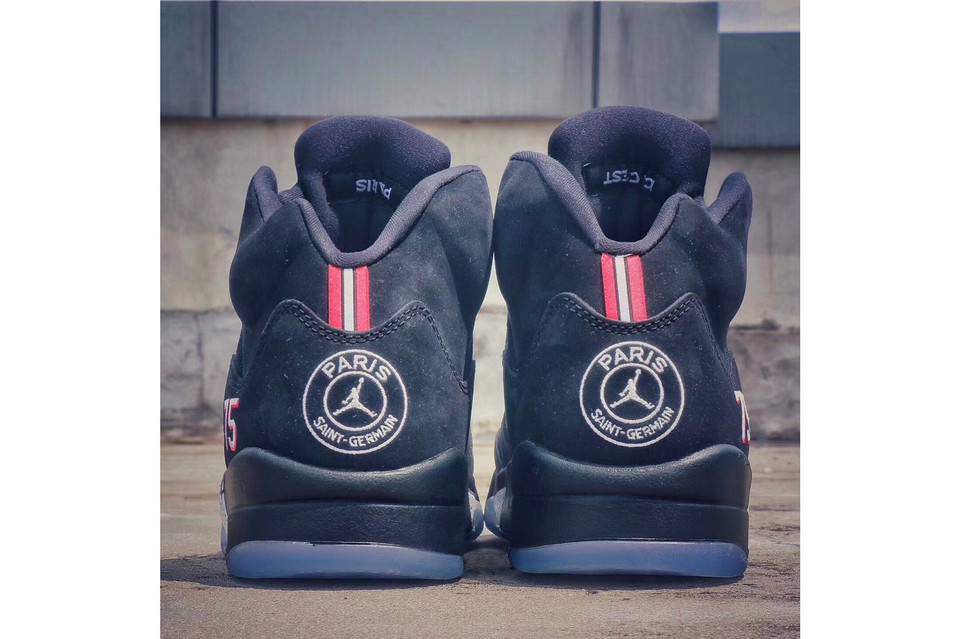 35caa773441 This Air Jordan 5 Pays Homage to French Champions Paris Saint-Germain