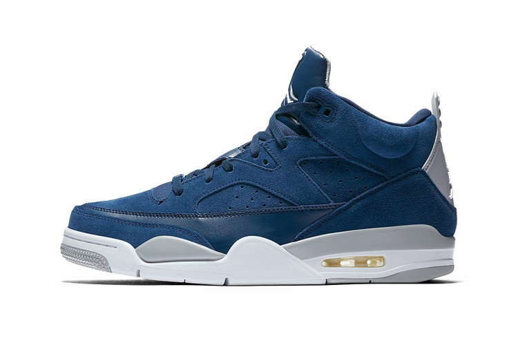 "big sale f7273 d38d5 Air Jordan Son of Mars Hits the Scene Rocking A ""Navy Wolf Grey"""