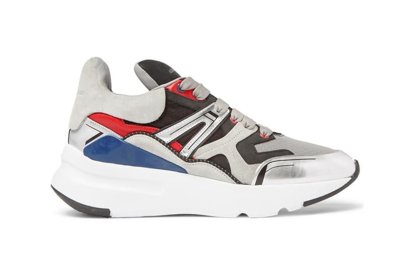 Alexander Mcqueen Exaggerated Sole Sneaker Footwear Trainers Alexander  Mcqueen UK Fashion Hikers Sneaker Kicks Luxury 3371f3bd312c