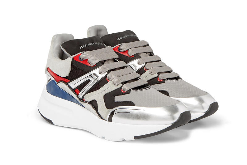 Alexander Mcqueen Exaggerated Sole Sneaker Footwear Trainers Alexander Mcqueen UK Fashion Hikers Sneaker Kicks Luxury