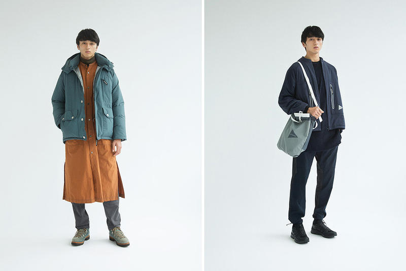 and wander Fall Winter 2018 Lookbook collection release date info drop japan hiking poncho mountain parka trek mt