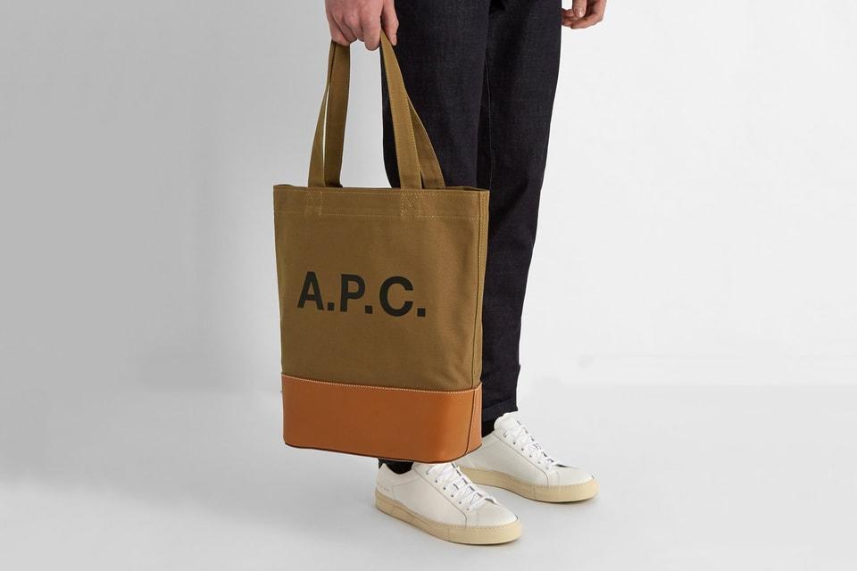 b9b9f25f9f A.P.C. Unveils a Set of Axel Tote Bags