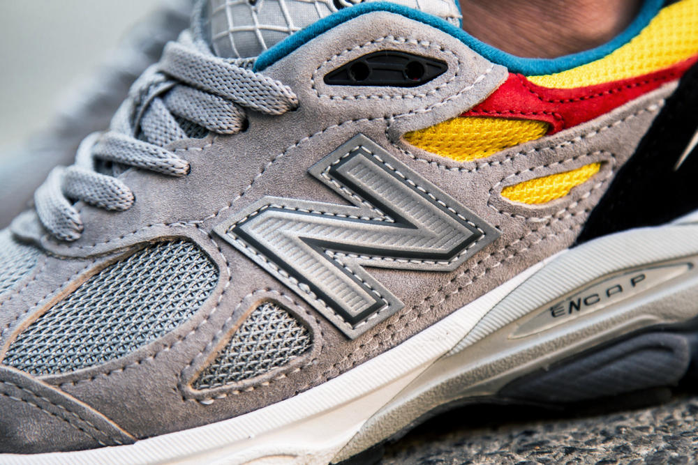 Aries x New Balance 990v3 Trainers On-Foot Closer Look Collab Collaboration Releasing Thursday May 17 2018