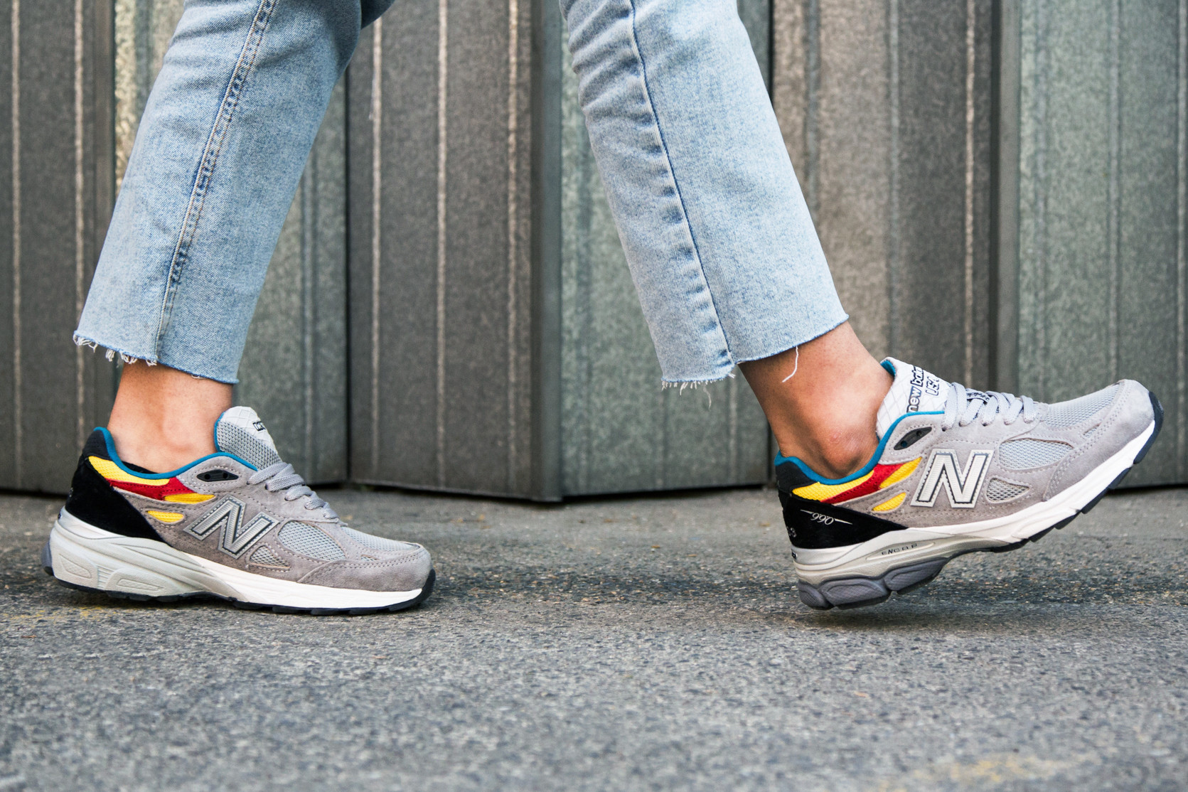 Aries x New Balance 990v3 Trainers On