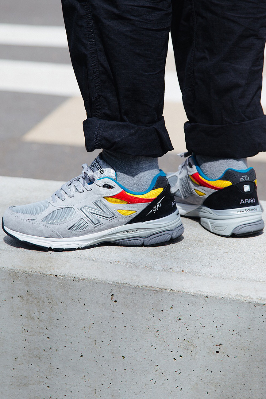 huge selection of d22bd cf26e Aries x New Balance 990v3 Release Info | HYPEBEAST