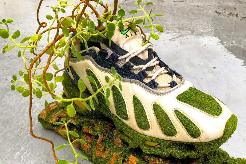 kosuke sugimoto shoetree isetan shinjuku nike sneakers artworks sculptures art