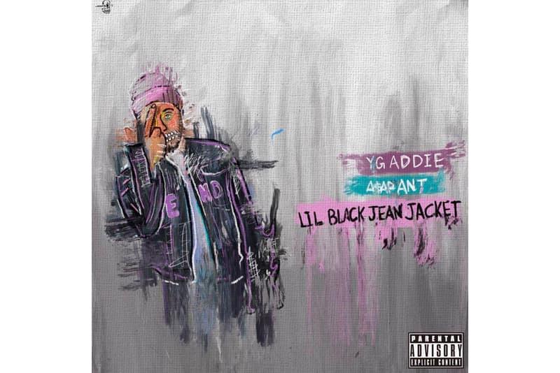 A$AP Ant Lil Black Jean Jacket A$AP Twelvyy Hoodrich Pablo Juan JBan$2Turnt K$upreme Stream