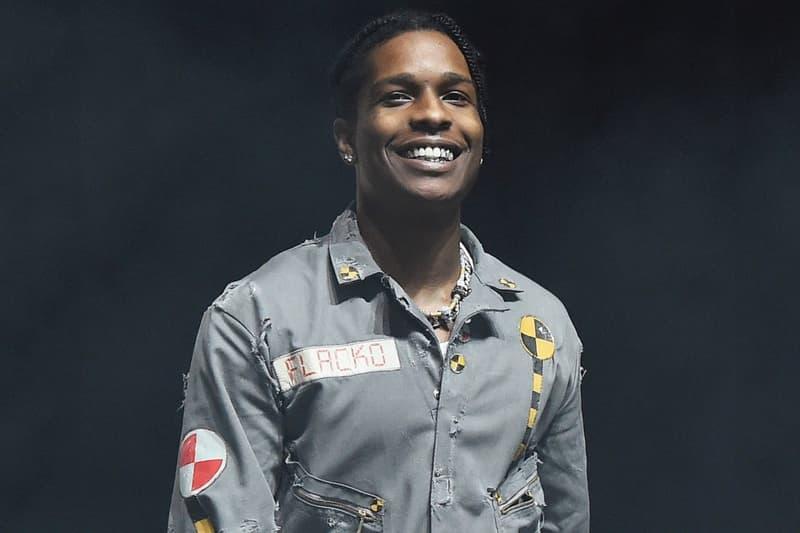 A$AP Rocky TESTING Free Show New York City A$AP Mob