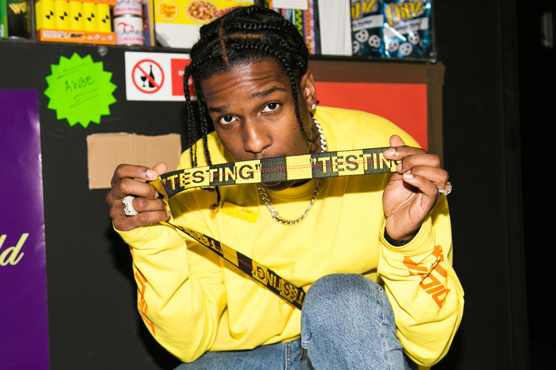 A$AP Rocky Under Armour Sneaker, Better Look black testing video awge black and white osiris