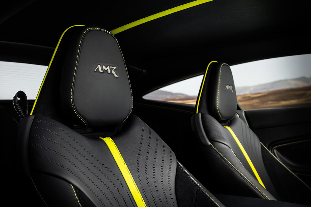 Aston Martin DB11 AMR V12 Sterling Green Neon