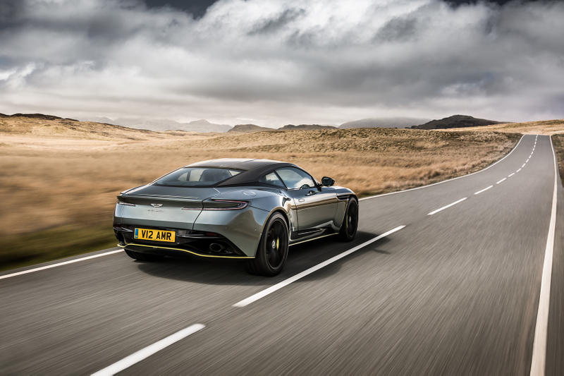 Aston Martin DB11 AMR V12 Sterling Green Neon