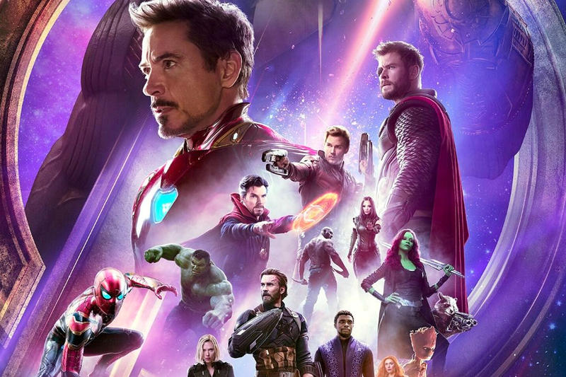 'Avengers: Infinity War' $808 Million Record sales box office marvel cinematic universe studios thanos iron man captain america hulk black panther movie film