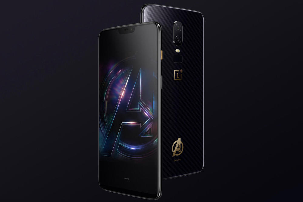 Avengers Edition Oneplus 6 Smartphone $660 USD Package Marvel Avengers: Infinity War Thanos Captain America Iron Man Avengers Alliance Package
