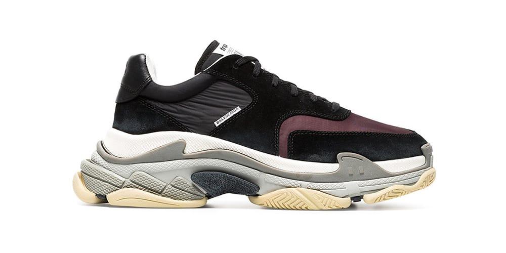 Balenciaga Triple S Sneaker in Black