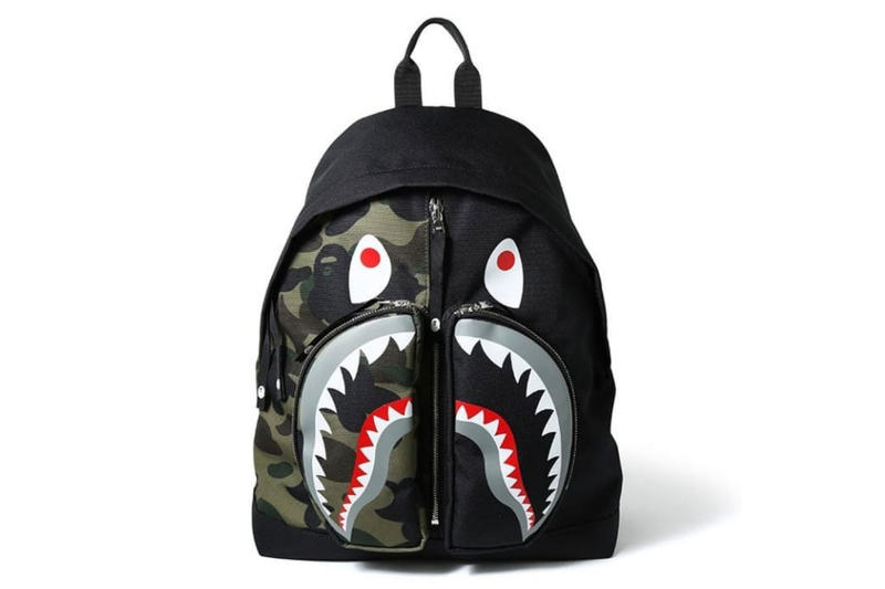 BAPE 1ST CAMO Shark Backpack Release | HYPEBEAST
