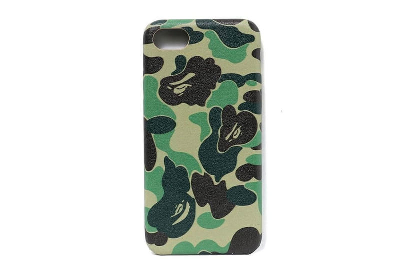 BAPE ABC CAMO iphone 8 case green