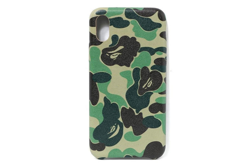 BAPE ABC CAMO iphone x case green