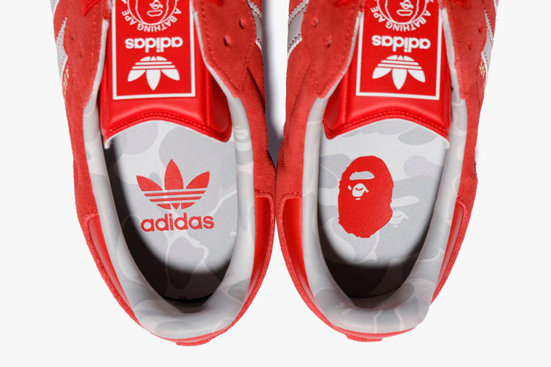"adidas BAPE a bathing ape ""Kachiiro"" Football Collection red white 2018 FIFA World Cup Adidas Winning Collection"