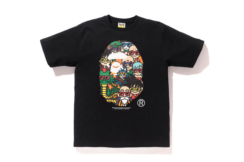 Dragon Ball x BAPE LA Exclusive Collection A Bathing Ape baby milo goku master roshi shenron ape head