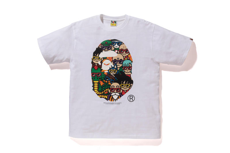 91129954 Dragon Ball x BAPE LA Exclusive Collection A Bathing Ape baby milo goku  master roshi shenron