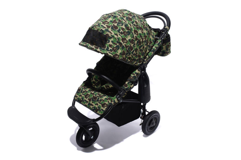 Air Buggy BAPE Camo Strollers spring summer 2018 a bathing ape blue red pink